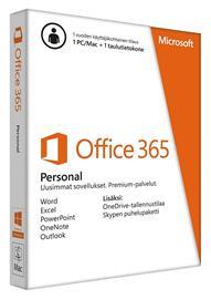 Microsoft Office 365 Personal, toimisto-ohjelmisto