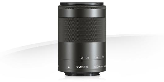 Canon EF-M 55-200mm f/4.5-6.3 IS STM , objektiivi