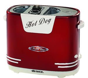 Ariete, Hot dog maker model 186, Red
