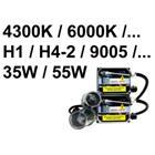HID Xenon - Muunnossarja - 35W, H7, 8000K