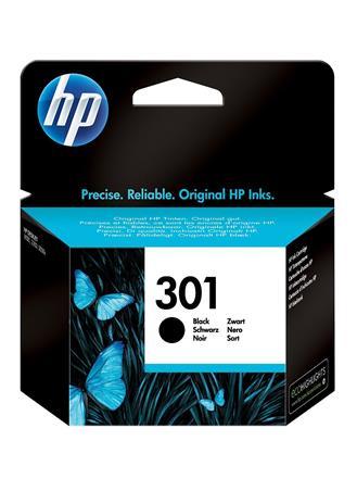 HP 301 musta, mustekasetti