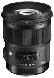 Sigma 50mm f1.4 DG HSM Art, objektiivi