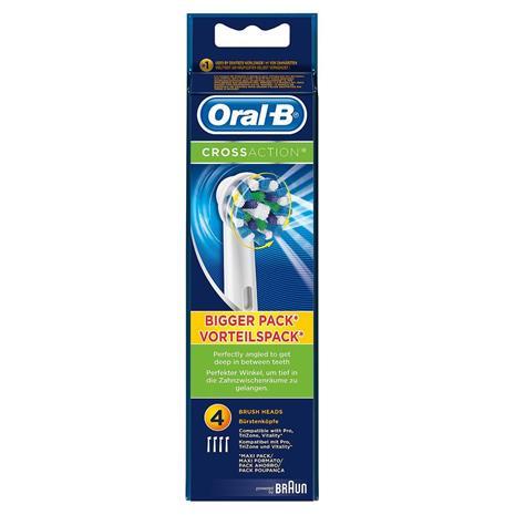 Braun Oral-B CrossAction, vaihtoharjat 4 kpl