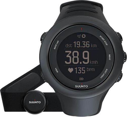 Suunto Ambit3 Sport HR, multisport-gps-kello + sykemittari