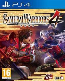 Samurai Warriors 4, PS4-peli