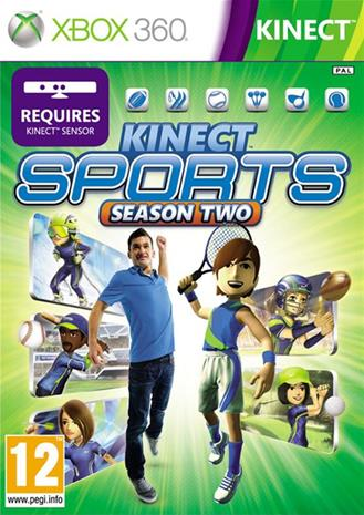 Kinect Sports 2 (Season Two), Xbox 360 -peli