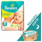 Pampers New Baby, koko 2 (3-6 kg), kuukausipakkaus 240 kpl