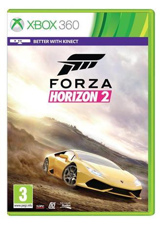 Forza Horizon 2, Xbox 360 -peli