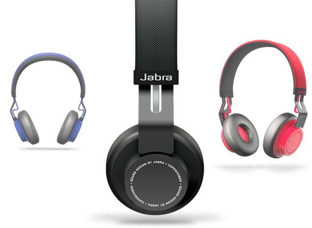 JABRA MOVE WIRELESS ON EAR BLUETOOTH KUULOKKEET PUNAINEN