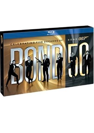 James Bond Boxset (24-disc Blu-ray), elokuva