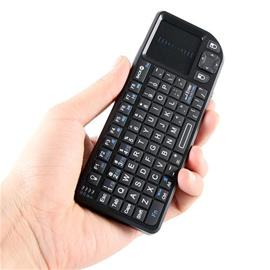 Langaton mininäppäimistö touchpadilla, näppäimistö