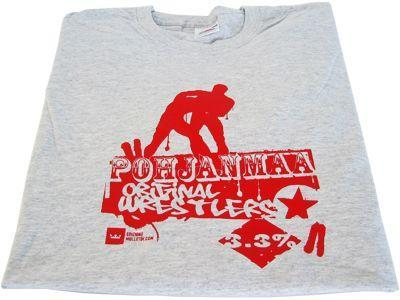 T-paita Miesten - Pohjanmaa Original Wrestlers