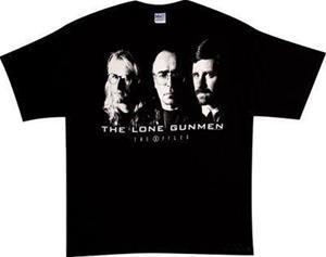 Lone Gunmen X-Files t-paita