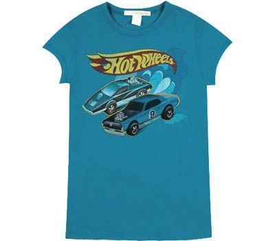 Naisten Hot Wheels t-paita