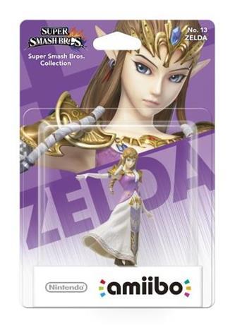 Amiibo Super Smash Bros - Zelda, hahmo