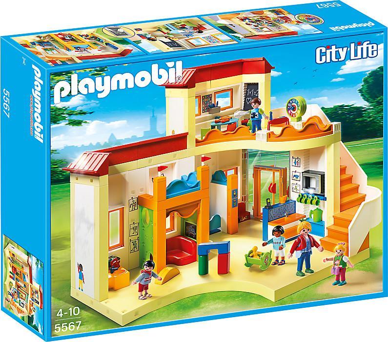 playmobil päiväkoti