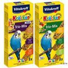 Vitakraft Kräcker Trio-Mix - kananmuna, aprikoosi + hunaja
