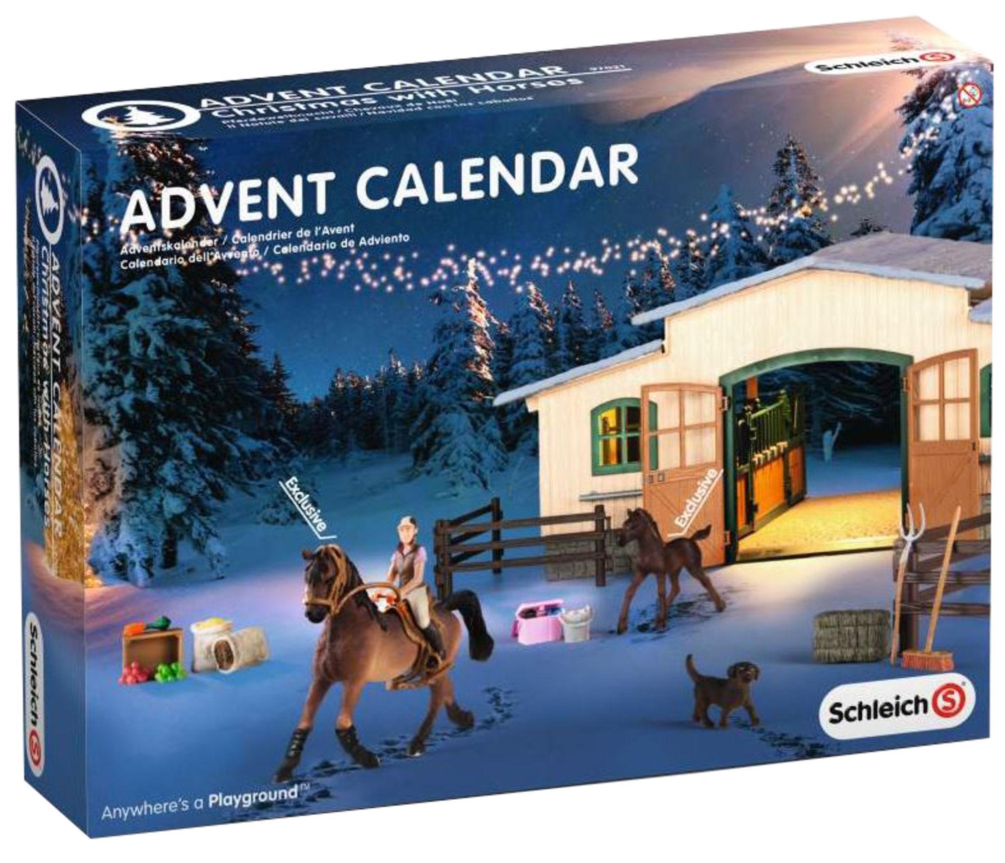 lelu joulukalenteri 2018 Schleich joulukalenteri hevoset | Hintaseuranta.fi lelu joulukalenteri 2018