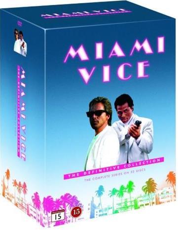 Miami Vice - The Definitive Collection, tv-sarja