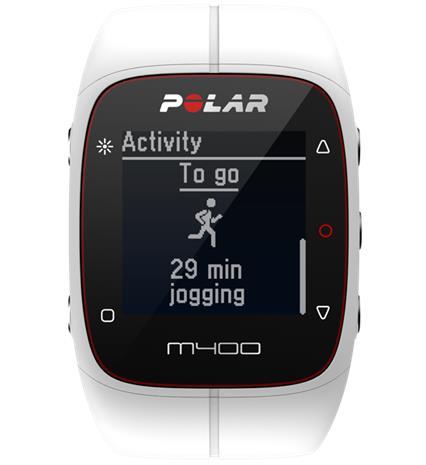 Polar M400 HR, gps-urheilukello + sykesensori