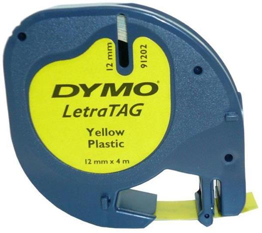 Dymo Letratag, muoviteippi 12 mm