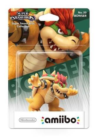 Amiibo Super Smash Bros - Bowser, hahmo