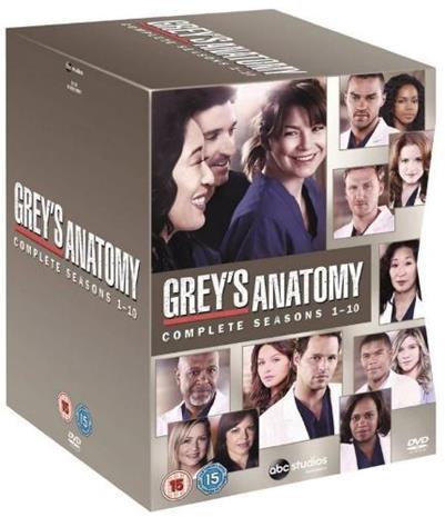 greyn anatomia dvd