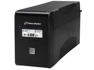 PowerWalker VI 850 LCD (10120017) 850VA Type F, UPS-laite