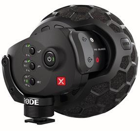 RØDE Stereo VideoMic X, Mikrofoni
