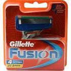 Gillette Fusion, vaihtoterät 4 kpl