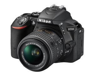 Nikon D5500 Kit (18-55mm VRII), järjestelmäkamera