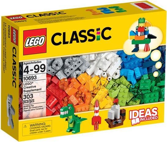 Lego Classic 10693, luovan rakentamisen lisäsarja