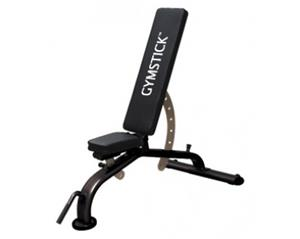 Gymstick Adjustable Bench, tasa-vinopenkki