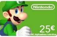 Nintendo eShop Card 25 Euroa