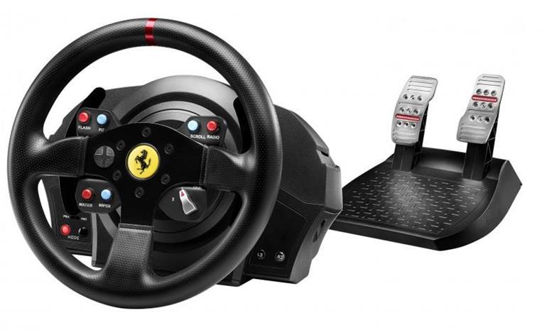 Thrustmaster T300 Ferrari GTE (PC/PS3/PS4), rattiohjain