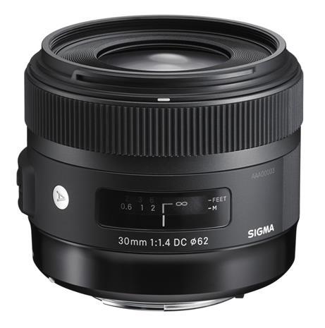 Sigma 30mm F1.4 DC HSM Art, objektiivi