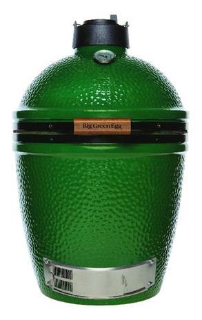 Big Green Egg Medium, hiiligrilli