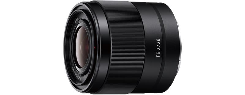 Sony FE 28mm F2 (SEL28F20), objektiivi