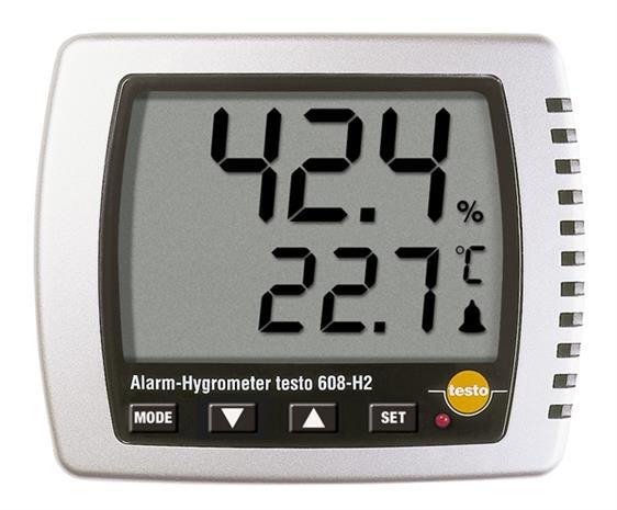 Testo 608-H2, lämpö/kosteusmittari