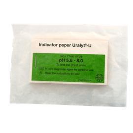 pH indikaattoripaperi 5,6-8.0, 100 liuskaa