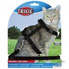 Kissanvaljaat klipsikiinnityksellä - valjaat + talutushihna