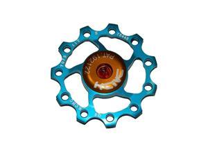 KCNC Jockey Wheel vaihdetarvike 11T, SS-Bearing, sininen