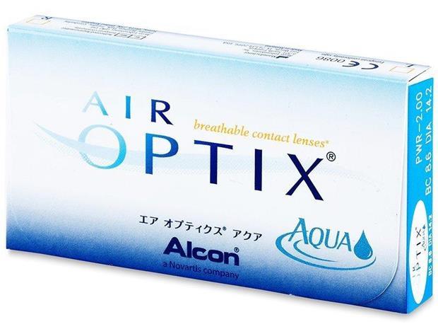 Air Optix Aqua (3 kpl)