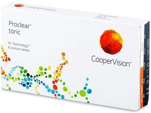 CooperVision Proclear Toric, kuukausikäyttöiset piilolinssit 6 kpl