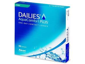 Alcon Dailies AquaComfort Plus Toric, kertakäyttöiset piilolinssit 90 kpl