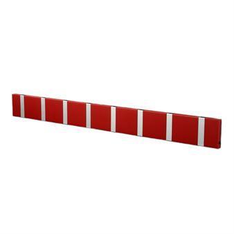 LoCa Loca Knax -vaatenaulakko 80 cm punainen-harmaa