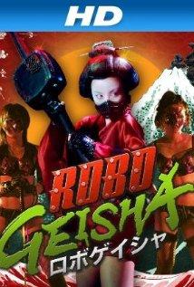 RoboGeisha (Robo-Geisha, Blu-Ray), elokuva