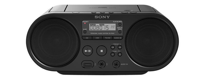 Sony ZS-PS50, CD-soitin