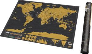 Scratch Map Original Deluxe, raaputuskartta
