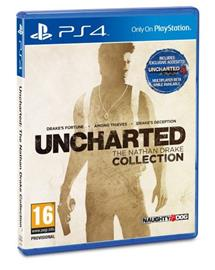 Uncharted: The Nathan Drake Collection, PS4-peli